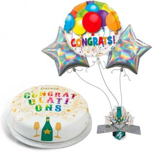 Congratulations Explosion Gift Set