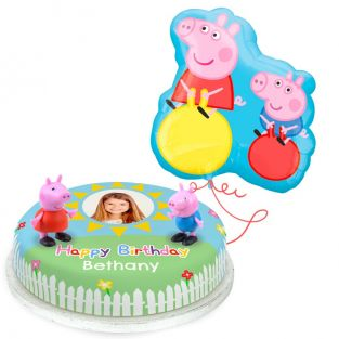Peppa and George Pig Birthday Gift Set