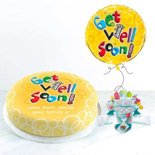 Get Well Soon Balloon Gift Set