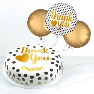 Golden Thank You gift Set