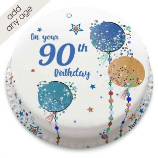 Any Age Starry Cake