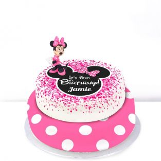 Disney Minnie Mouse Cake