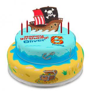 Pirate Tier Cake