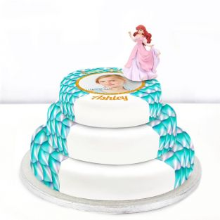 Disney Ariel Photo Cake