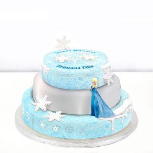 Disney Elsa Cake