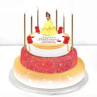 Disney Belle Cake