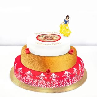 Disney Snow White Photo Cake