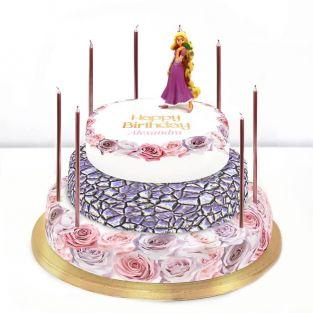 Disney Rapunzel Cake