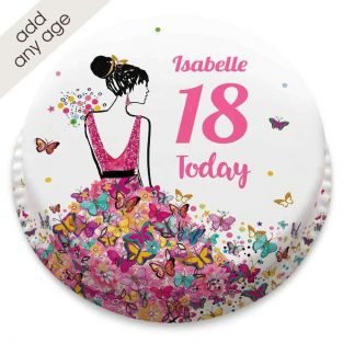 Any Age Dress Cake