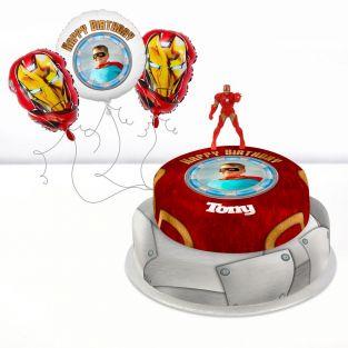 Iron Man Photo Gift Set