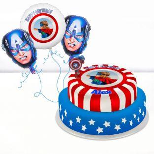 Captain America Gift Set
