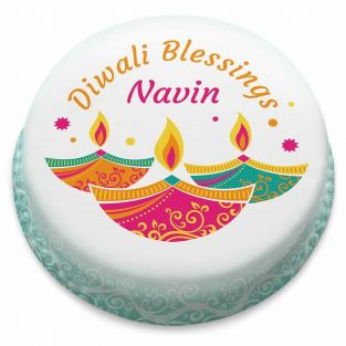 Diwali Blessings Cake