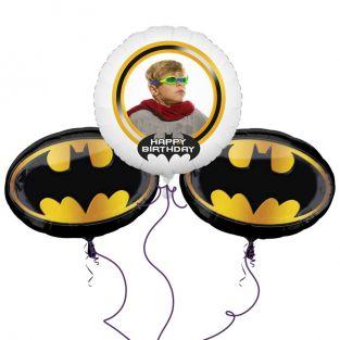 Batman Crest Balloon Bouquet