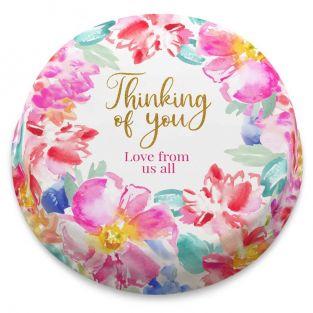 Thoughtful Flowers Cake