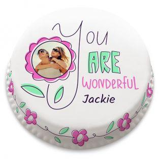 You Are Wonderful Cake