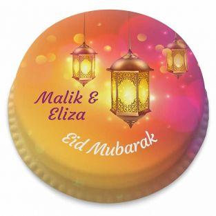 Eid Lanterns Cake