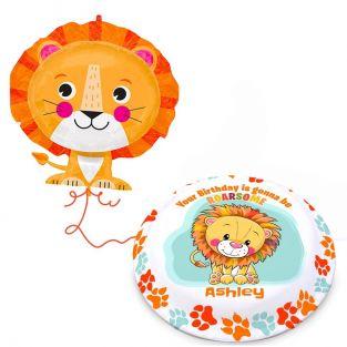 Jumbo Lion Gift Set