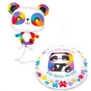 Jumbo Panda Gift Set