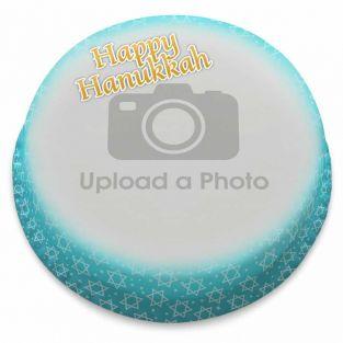 Hanukkah Photo Cake