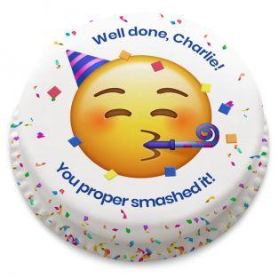 Congrats Emoji Cake
