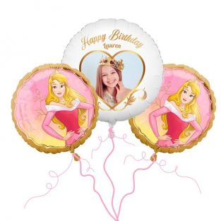Disney Aurora Photo Balloon Bouquet