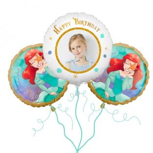 The Little Mermaid Balloon Bouquet
