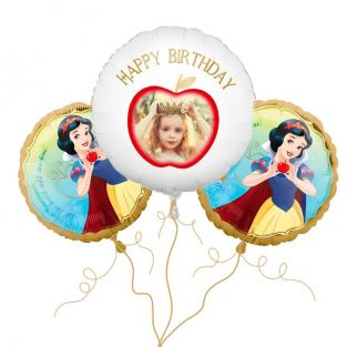 Snow White Photo Balloon Bouquet
