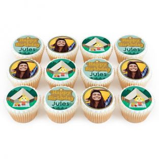 12 Animal Camp Cupcakes