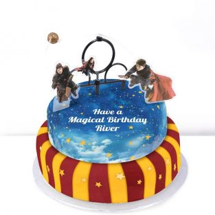 Tiered Harry Potter Cake