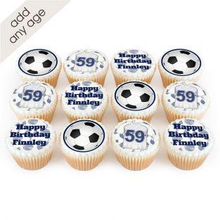 12 Tottenham Themed Cupcakes
