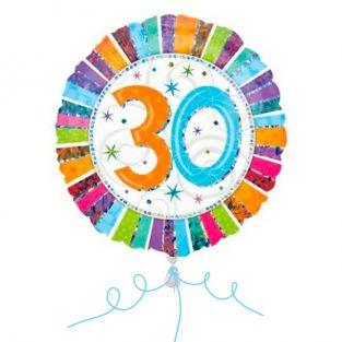 30th Colourful Balloon