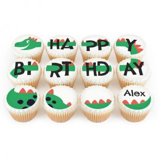 12 Great Dinosaur Cupcakes