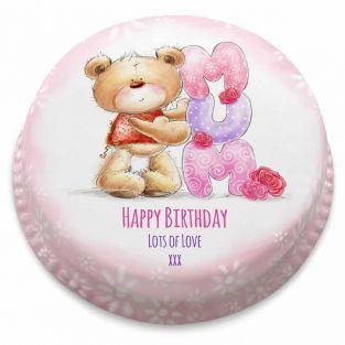 Birthday Mum Ted Cake