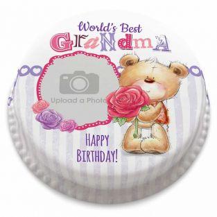 Best Grandma Photo Cake