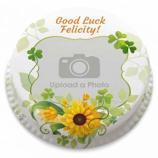 Lucky Sunflowers Cake