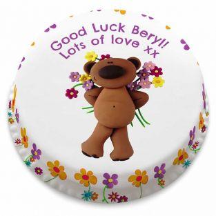 Good Luck Teddy Cake
