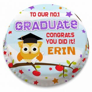No.1 Graduate Cake