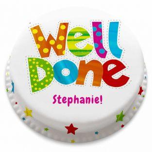 Well Done Stars Cake