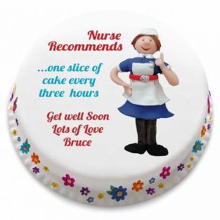 Nurse Recommends Cake