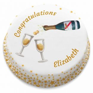 Champagne Moments Cake