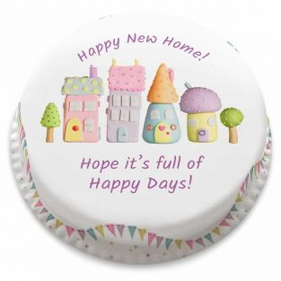 Happy New Home Cake