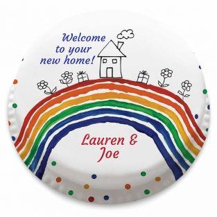 New Home Rainbow Cake