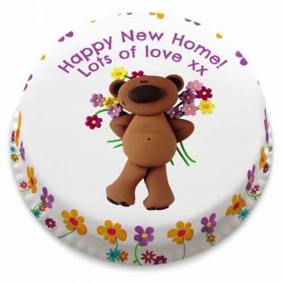 Teddy New Home Cake