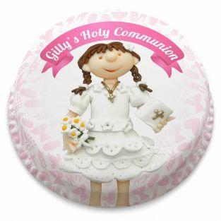 Girls Holy Communion Cake