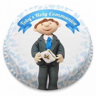 Boys Holy Communion Cake