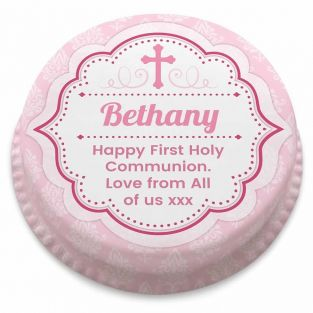 Traditional Pink Communion