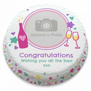 Sweet Congratulations Photo Cake