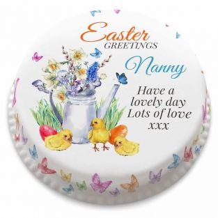 Easter Greetings Cake