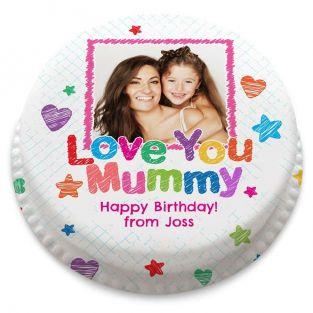 Love You Mummy Cake