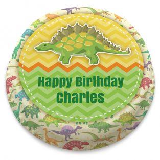Dinosaur Pattern Cake